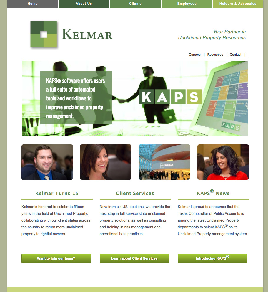 kelmar-assoc-homepage-by-perkins-design
