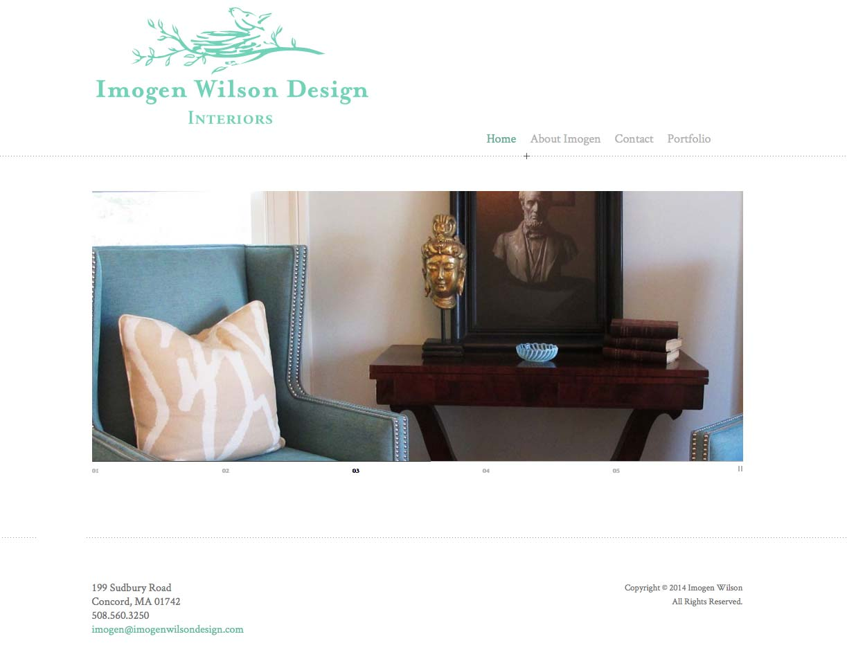 imogen wilson design by perkins design studios