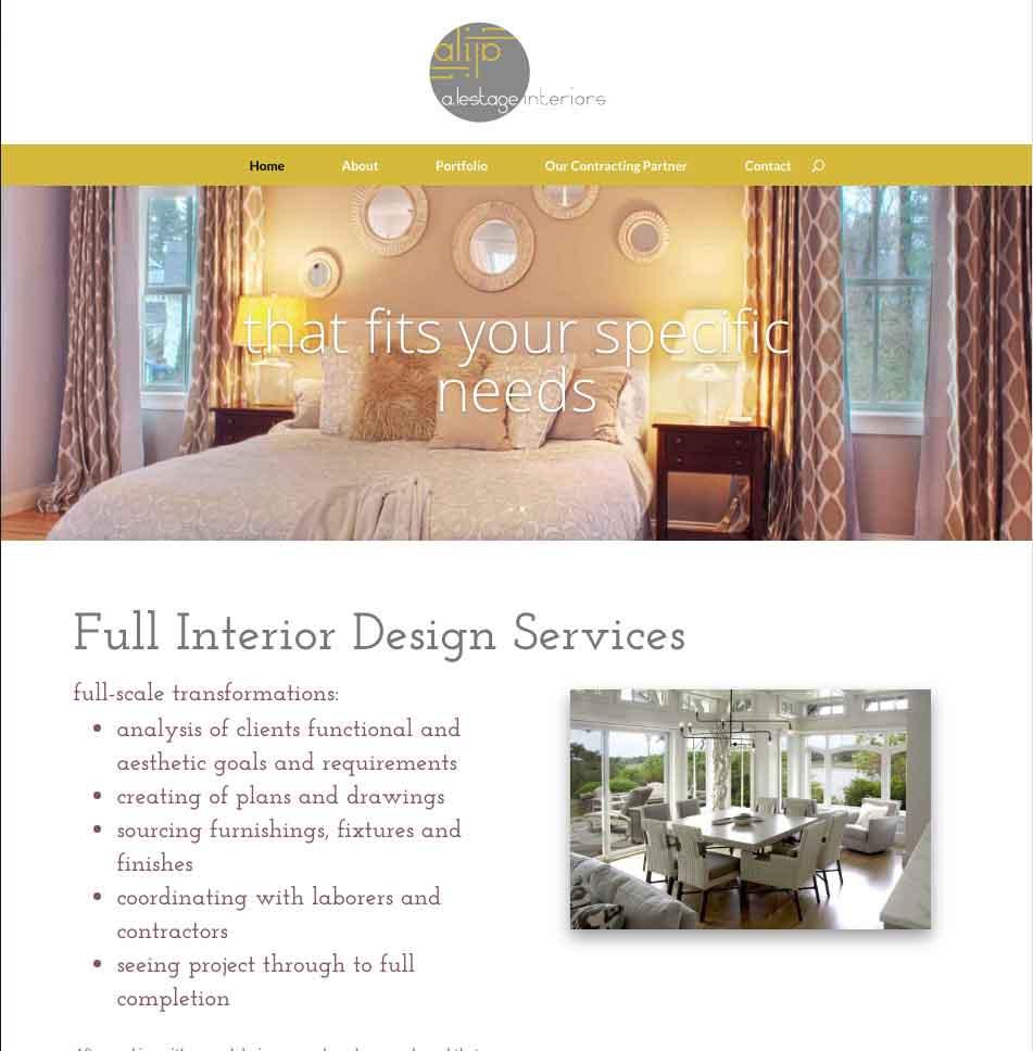 LeStage Design Home page thumbnail